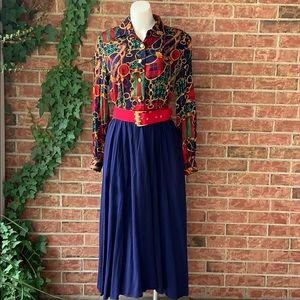 Y2K does 70s Maxi Dress